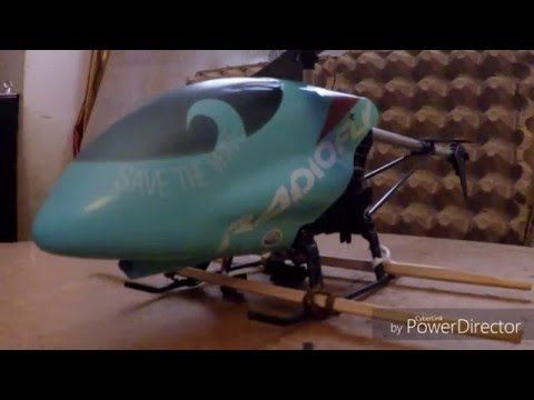 """D.i.y. helicopter safety landing skids (for beginners)"" -Video #126 - YouTube"