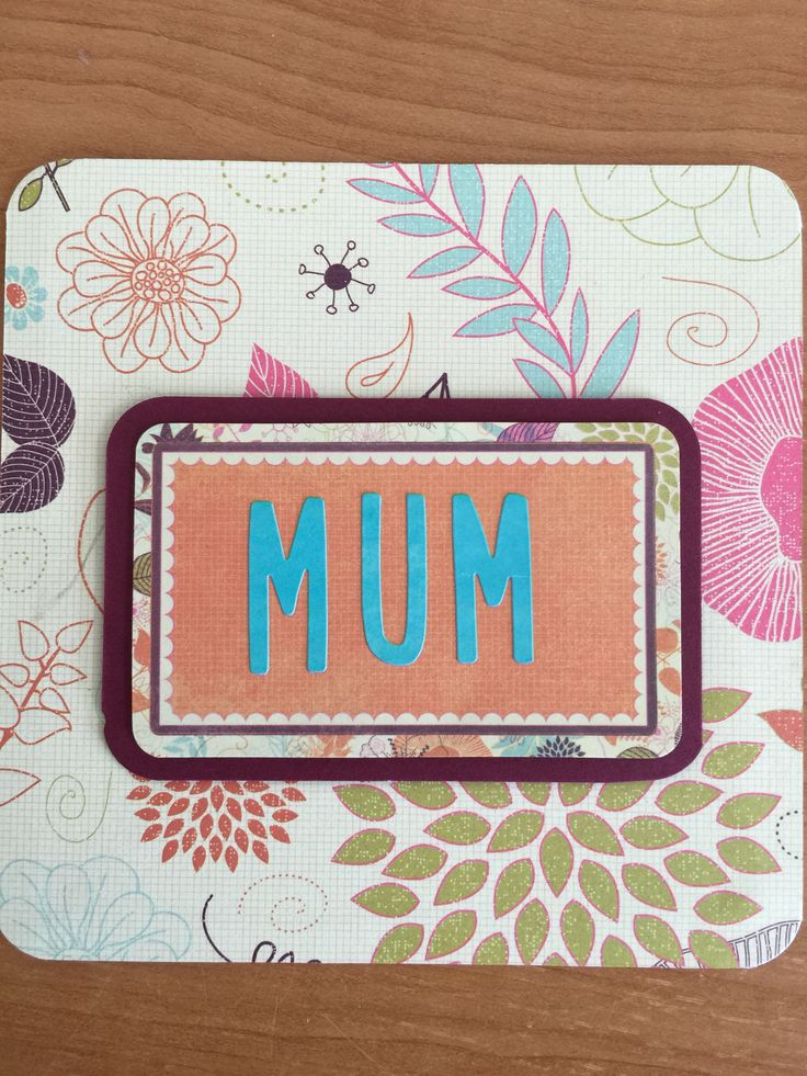 Simple and elegant Mothers Day Card - available from Jelts Cards.