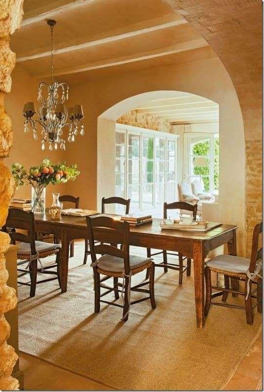 Le case di campagna più belle - Sala da pranzo elegante The most beautiful country houses - Elegant dining room