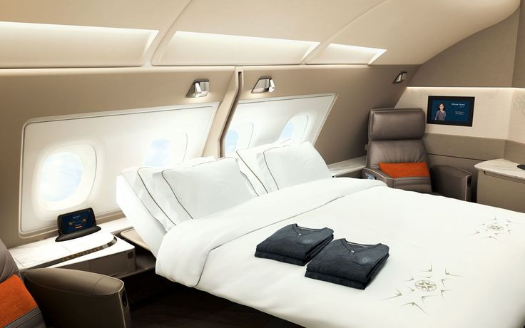 These First Class Suites Are Like Luxury Hotel Rooms in the Sky | There's a reason Singapore Airlines is considered the best airline in the world.