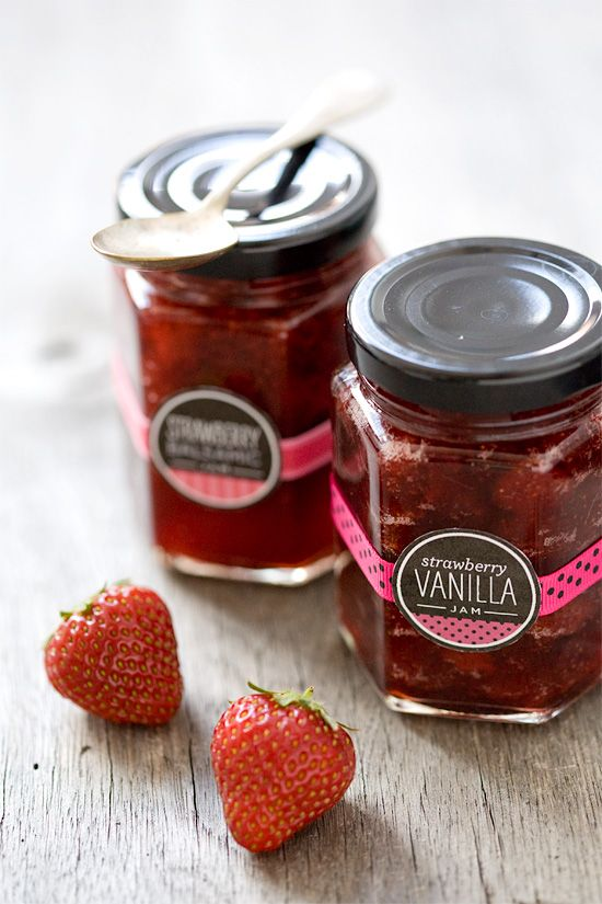 Strawberry Vanilla and Strawberry Balsamic Jam http://www.loveandoliveoil.com/2012/05/strawberry-vanilla-and-strawberry-balsamic-jam.html