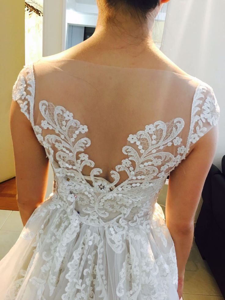 161 best Real Brides Wearing Vivian Gown images on Pinterest ...