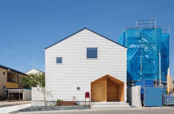 CASE 355 | 入れ子がアクセントな家(愛知県大府市) |ローコスト・低価格住宅 | 注文住宅なら建築設計事務所 フリーダムアーキテクツデザイン