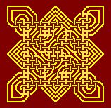 Free tapestry (needlepoint) patterns of Celtic knots