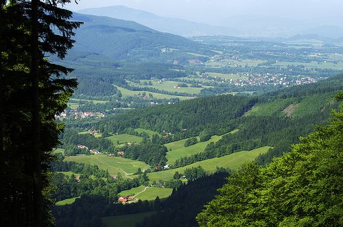 Hilly landscape of Beskydy by Gregor Sama on Flickr