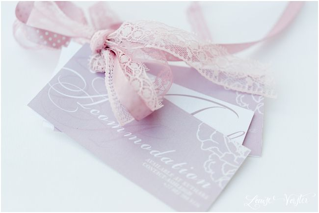 wedding invitation details, accommodation, map and other instructions.
