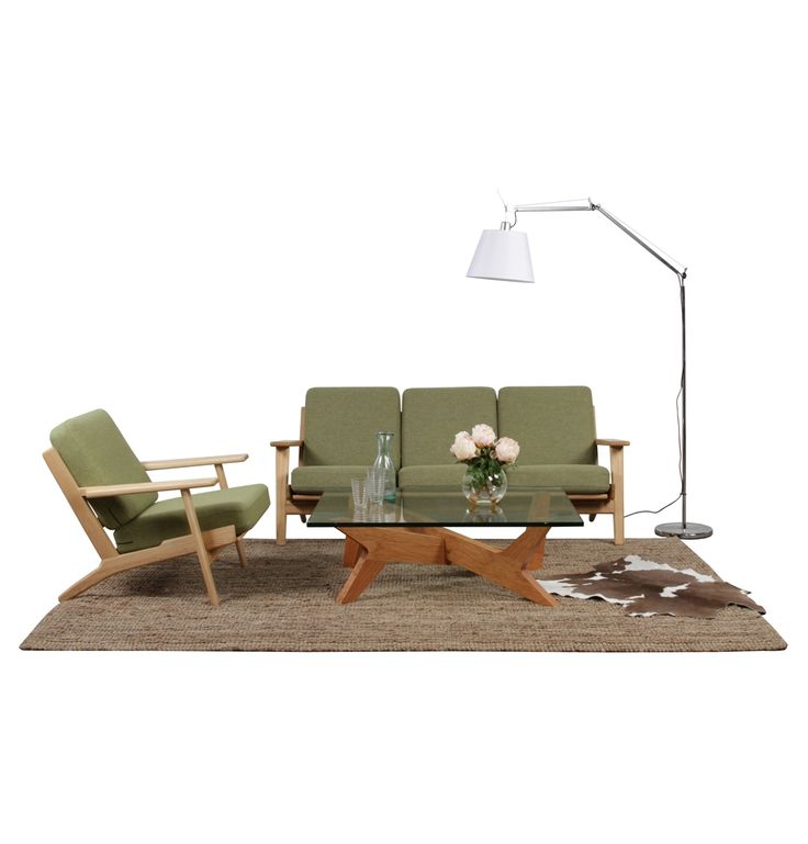 Matt Blatt Eames Coffee Table: The Matt Blatt Replica Hans Wegner Plank Armchair