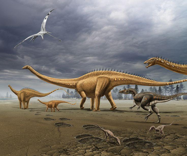 Jurassic landscape by dustdevil on DeviantArt