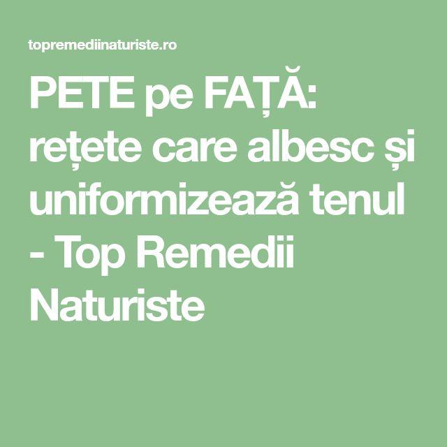 PETE pe FAȚĂ: rețete care albesc și uniformizează tenul - Top Remedii Naturiste