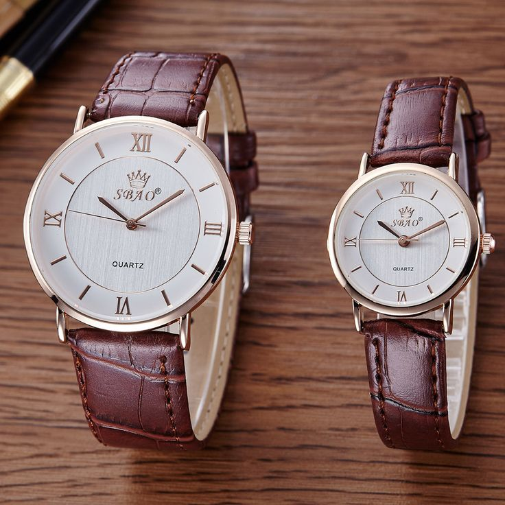 SBAO Fashion Men and Women Faux Leather Watches Mens Luxury Brand Business Wrist Watch Women's Roman Numerals Quartz Watch #LH #Affiliate