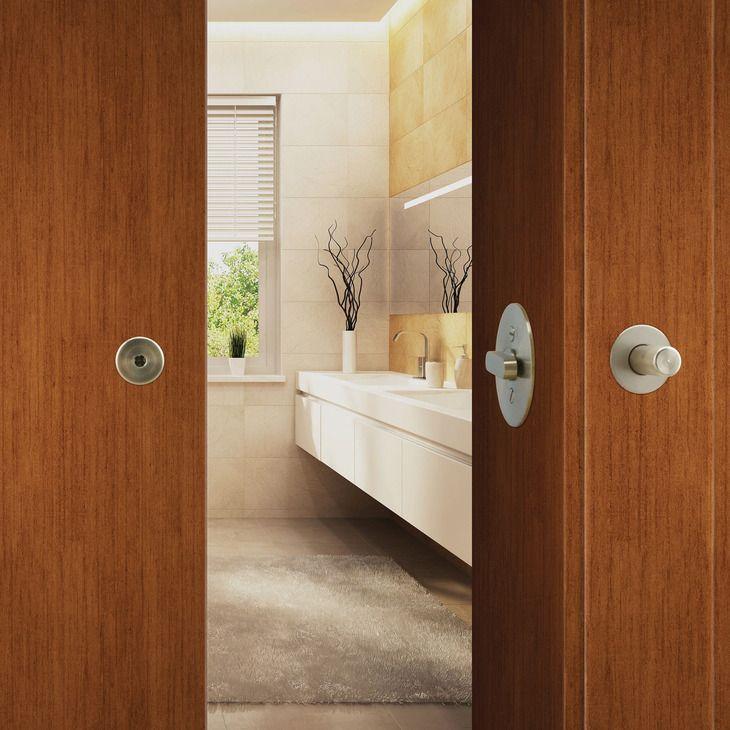 Bl100 Privacy Lock For Sliding Barn Door In The Hafele America Shop Light Blue Bathroom Barn Door Barn Door Locks