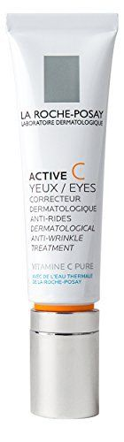 La Roche-Posay Active C Eyes Dermatological #Anti- #Wrinkle Treatment Vitamin C #Eye Serum, 0.5 Fl. Oz.  Full review at: http://toptenmusthave.com/best-under-eye-wrinkle-cream/