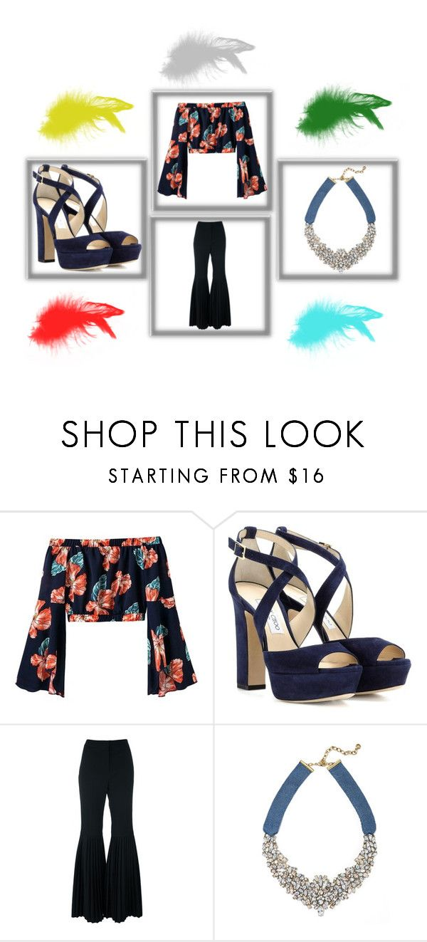 """""""style 1"""" by feliciamia on Polyvore featuring Jimmy Choo, STELLA McCARTNEY and BaubleBar"""