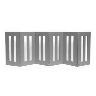 Backyard Outdoor Dog Gate - #MadeinUSA and great for containing #dogs in and out of the house!
