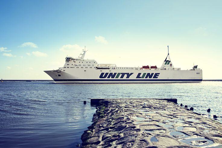 #unityline #ferry #ferries #gryfin #sea #sweden #poland