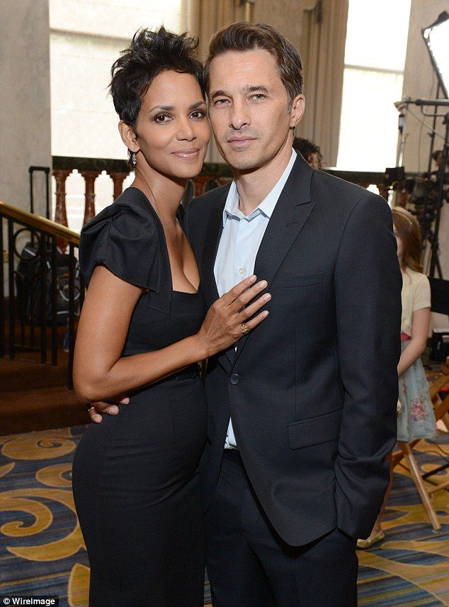 Split: On Monday, Halle filed for divorce from Olivier after a two year marriage. The Frenchman also filed a divorce petition to end their union