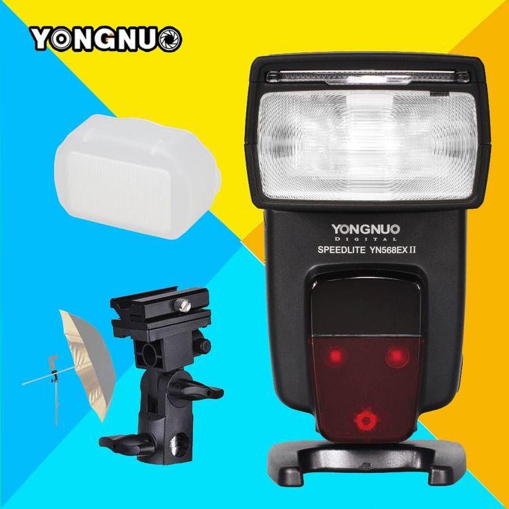 >> Click to Buy << Yongnuo YN568EX II For Canon 6d 60d 5d mark iii 550d 1100d 650d 600d 700d 7d 5D3 5D2 Camera TTL HSS Speedlite YN-568EX II Flash #Affiliate