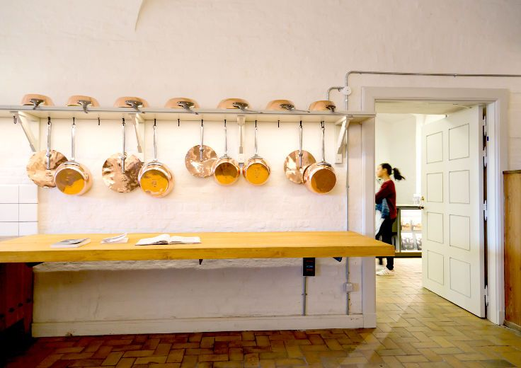 The Royal Kitchen at Christiansborg Palace - also known as the Kopper Kitchen