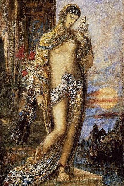 Gustave Moreau - Cantico dei Cantici