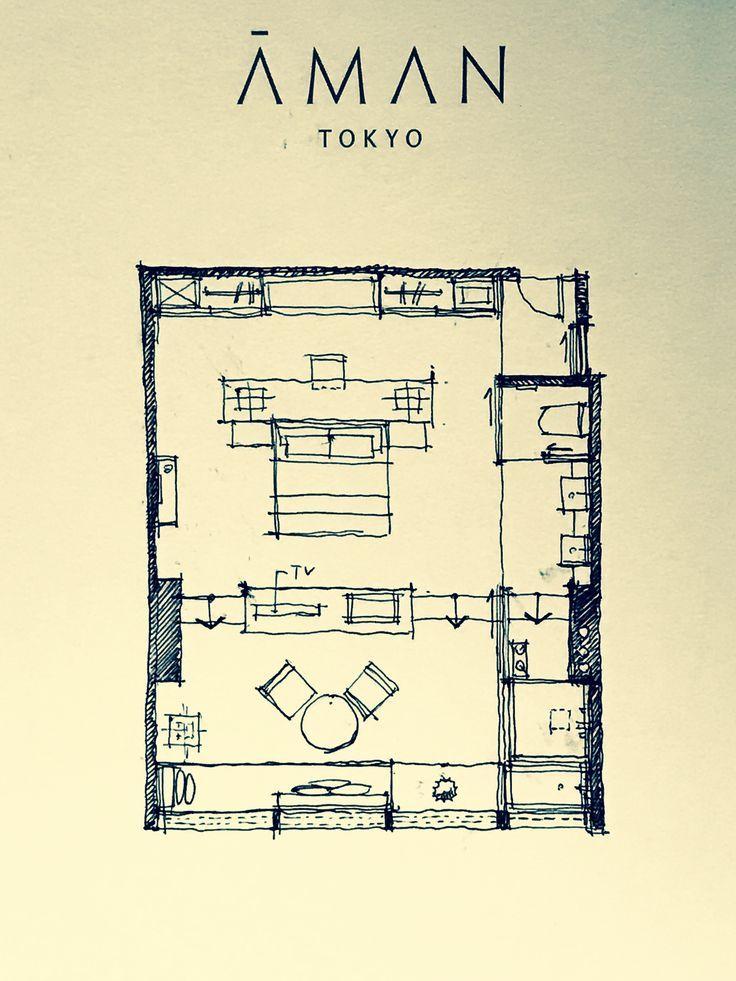 Safe Tokyo Kezia Karin Karin Kezia Safe Tokyo Hotel Floor Plan Hotel Room Plan Hotel Room Design Plan