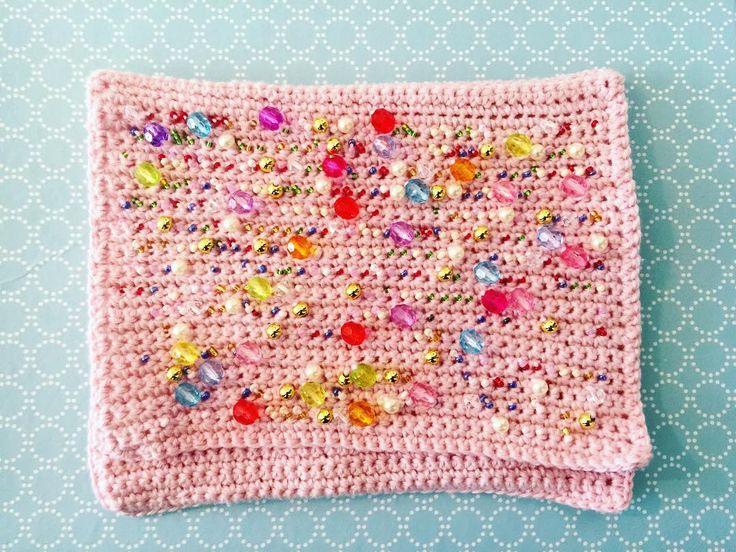 We on Facebook: http://ift.tt/2jRHDjd Beautiful Beaded Jewelry #underbeads by @underbeads Check our #AmazingPhoto WEBSTA: Den har nu set sådan ud længe men mangler stadig for  #hækle #hæklerier #hækling #hæklefreak #crochet #crocheting #crochetlove #kreativ #perler #perlehækling #beadcrochet #handmade #håndlavet #håndarbejde #forår #hæklettaske #taske #clutchbag #glitter #beads