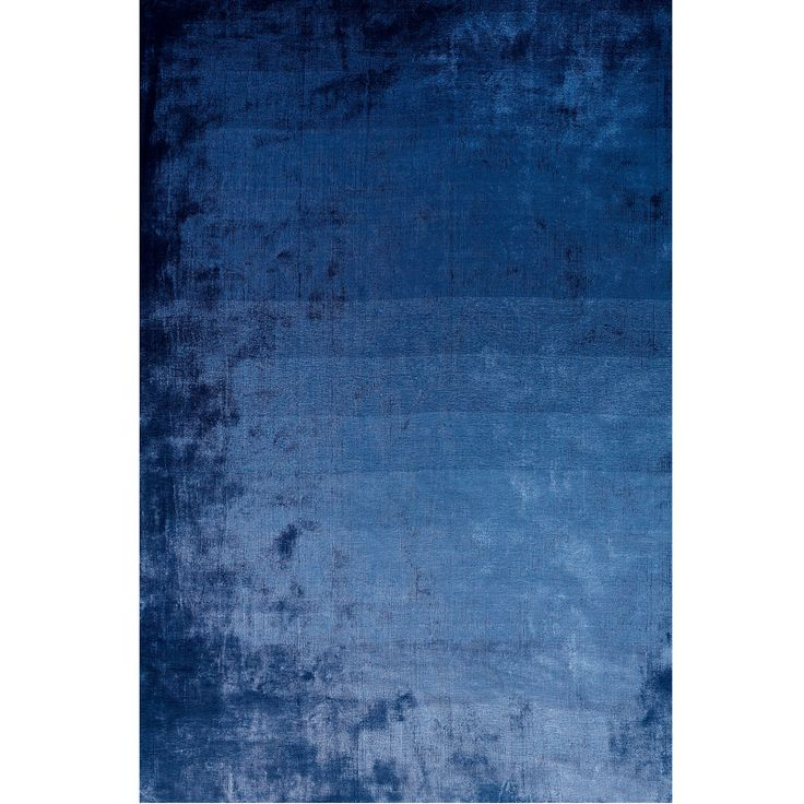 Designers Guild Eberson Cobalt Rug | Plain Rugs | Living Room | Heal's
