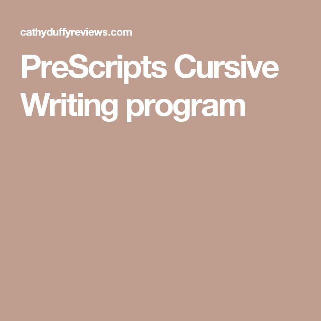 cursive writing program Cursive handwriting practice practice writing words in standard cursive this page allows you to create a worksheet of text for cursive writing practice.