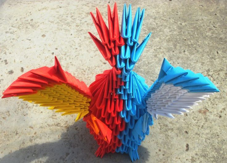 how to make a origami fire