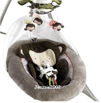 Fisher Price Baby Monkey Swing My Little Snugamonkey