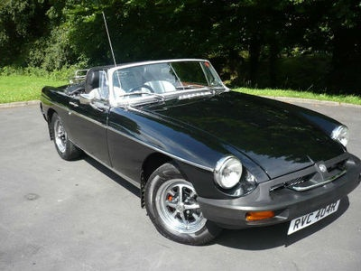 1976 'R' Reg MGB Roadster    Registered 22nd November 1976.  Mileage 36,597 (not warranted)    Finished in Black with original style stripped seats.    Specification includes –    32 photographs of the full restoration carried out in 2005 including -    New inner & outer rear wings, new bonnet and full professional re-spray.  The engine has been refurbished & converted to unleaded.  The last owner had the car for 8 years who was a member of the MG Owners Club.    £4995