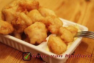 Kibbeling van heek met snelle remoulade - Geur van Maillard - www.maillard.nl