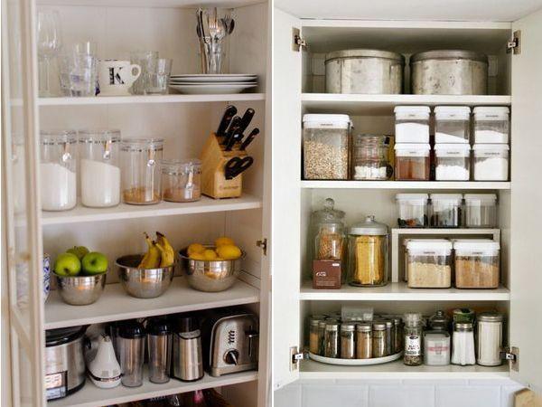 Wnętrza: Przechowywanie i organizacja w kuchni | Sen Mai - techniki DIY, wnętrza, uroda, wyzwanie foto