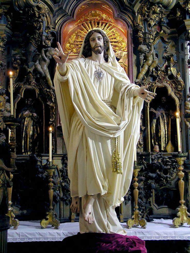 Jesus Christ is risen. Alleluia