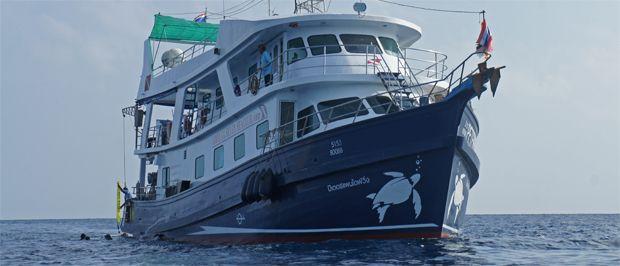 Curso de buceo en un Crucero de vida a bordo en Tailandia