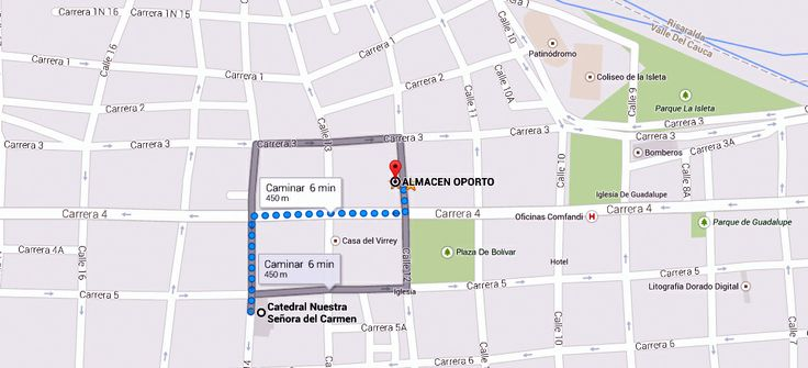 Vía Catedral Nuestra Señora Del Carmen #Cartago @ALMACENOPORTO Calle 12 # 3-66 L 117 CC Villa De Robledo, Cartago, Valle www.almacenoporto.com.co Tel: 210 2525
