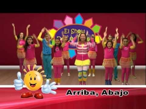 Adentro, afuera, arriba, abajo - El Show de los Niños - Coreografía Cristiana para Niños - YouTube