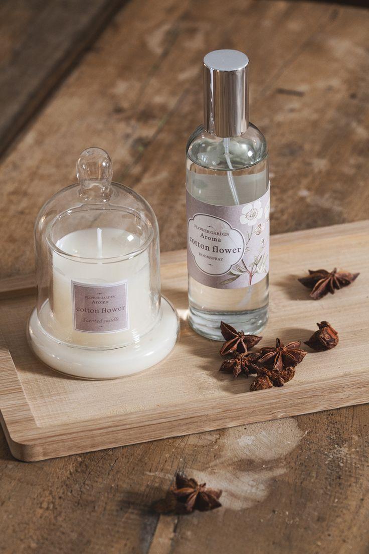 Aromas para el hogar y para despertar el alma #muymucho #aromaterapia #velas #perfumes #hogar #decoración #ambiente #aroma #ambientador #cottonflower #roomspray #flowergarden #candle #scented