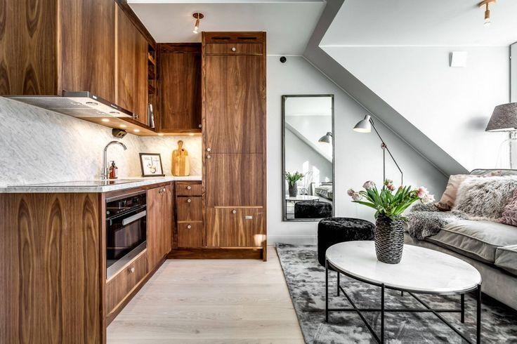 40m2 de Elegancia Parisina para tu decoración - cocina