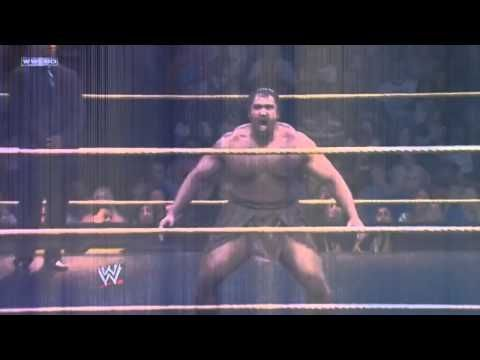 ▶ Alexander Rusev - I just love his gimmick. Don't know much about his wrestling skills, yet. But I really hope to see more of this guy soon (and with such or similar gimmick)