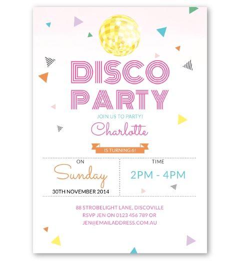 Custom Invitations Birthday