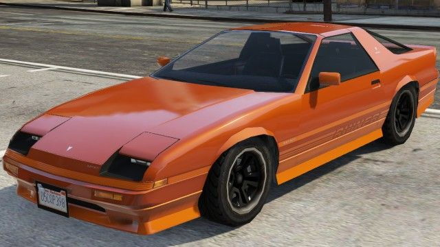 The Imponte Ruiner Is A Classic 2 Door Muscle Car Featured In Gta 5