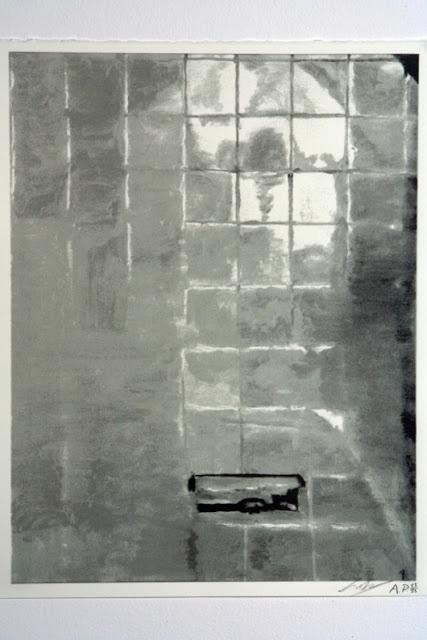 Luc Tuymans - Tiles - 2005 - oil on canvas