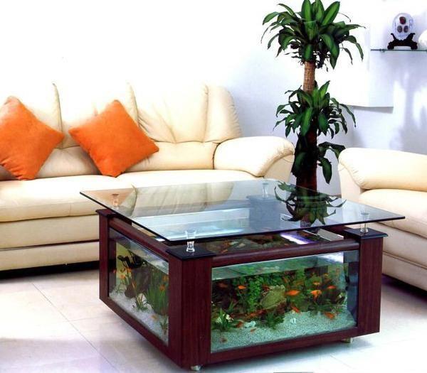 Unique Fish Tanks | unusual tropical fish tanks for interior decorating