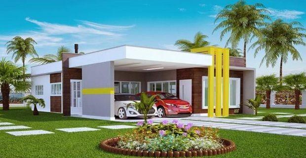 Mejores 11 im genes de casas en pinterest proyectos for Casas modernas 120m2