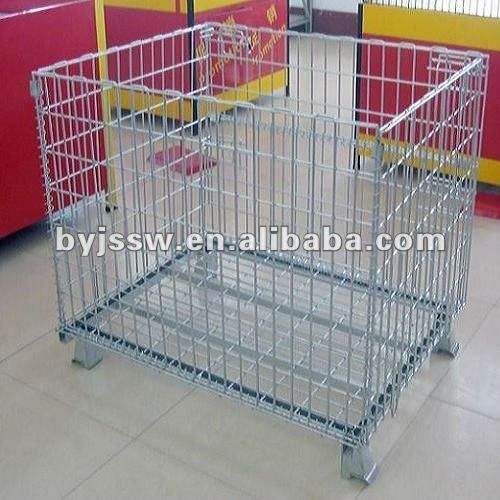 metal storage containers cage using in supermarket and warehouse $50~$100