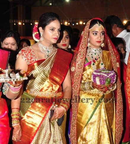 Jewellery Designs: Revanth Reddy Daughter Marriage
