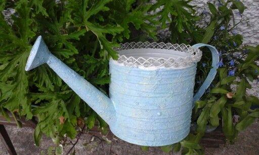 Verdigris Watering Can