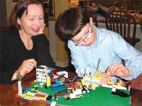 LEGO blocks are the perfect toy to engage a child (or adult) who loves to build, and needs a little quiet time in their day.