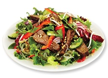 Nutrition Melbourne Weight Loss Program Tip frm our Dietitian: Small sized Warm Thai beef salad from Sumo Salad under 1000kJ per serve. http://nutritionmelbourne.com.au/weight-loss-programs/