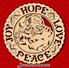 christmas scroll saw patterns pdf
